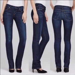 Citizens of Humanity Elson Straight Mid Rise Jeans